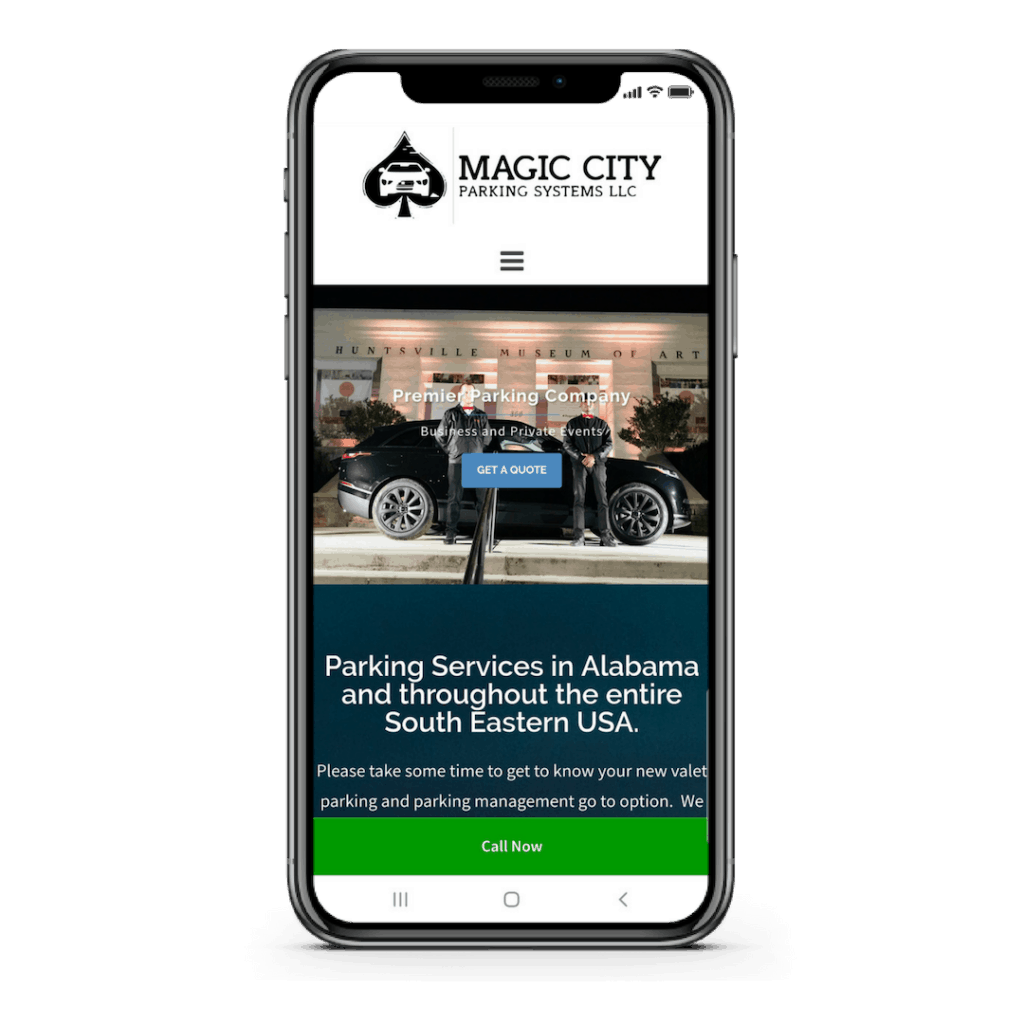Magic City Parking Responsive Case Study