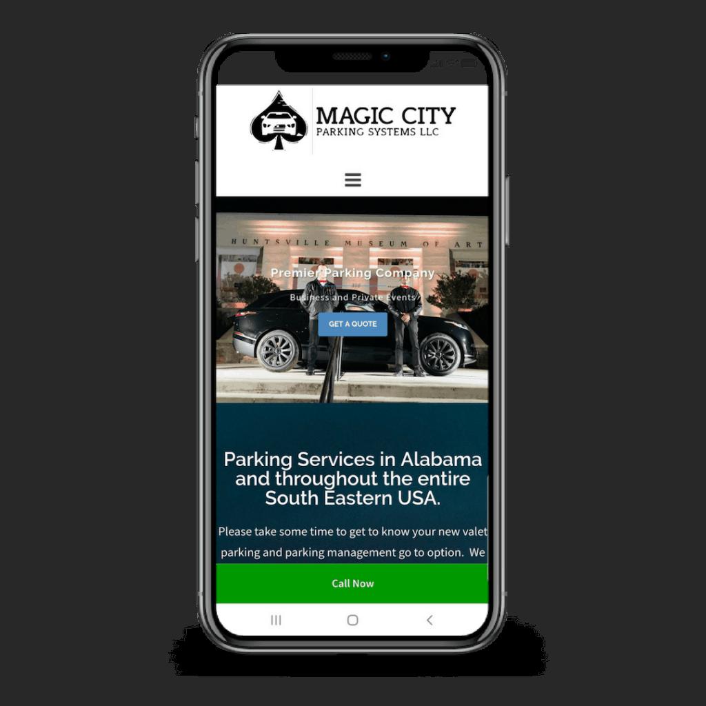 Magic City Parking Responsive Case Study
