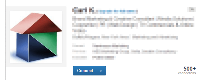 linkedin profile tips logo is not a pricture of you