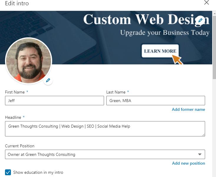 linkedin profile tips summary section editing it