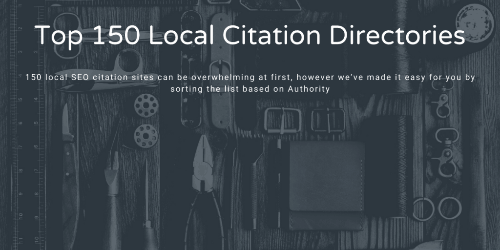 Top 150 Local citation directories