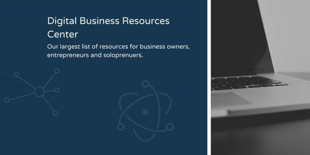 Digital Business Resource List