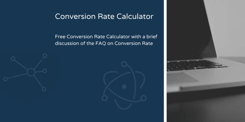 Conversion Rate Calculator Blog Header