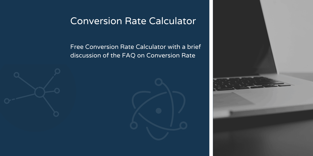 Conversion Rate Calculator Blog Header