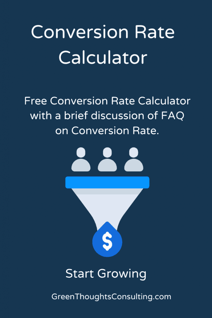 Conversion Rate Calculator Funnel Makes Money
