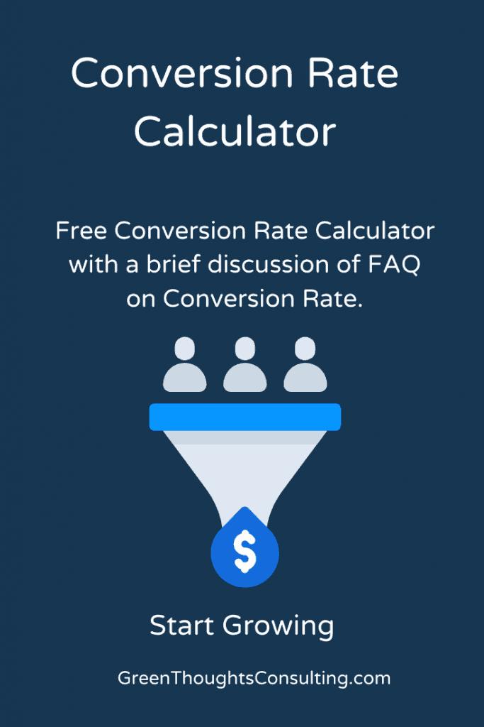 Conversion Rate Calculator Funnel Makes Money