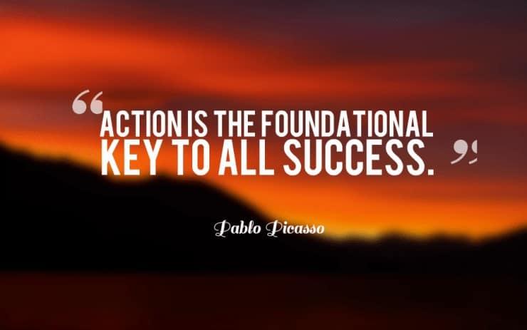value ladder success involves action