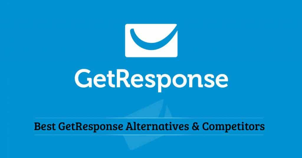 Best getresponse alternatives and competitors